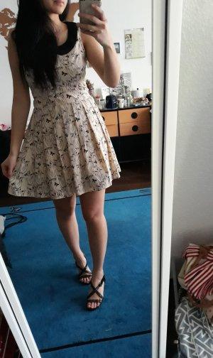 Süßes Eulenkleid mit Kragen, A-Linien Kleid von Yumi