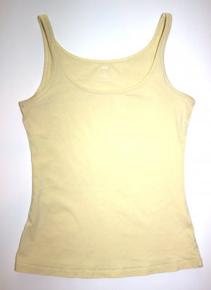süßes gelbes Basic Top