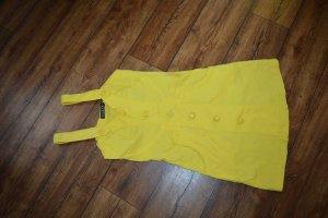 Vestido elástico amarillo