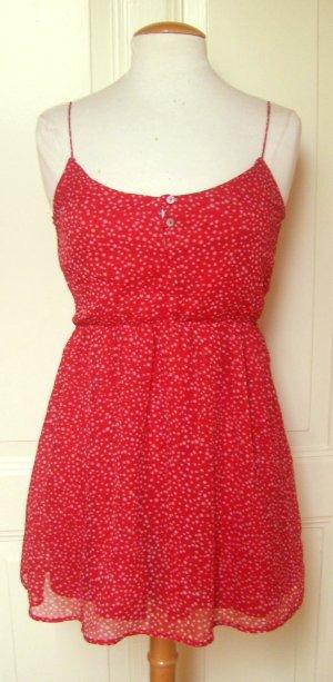 Zara Robe courte rouge