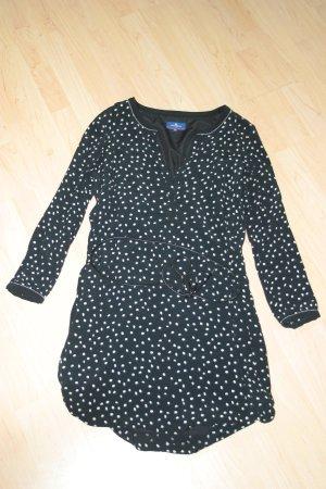 Süsses gepunktetes TOM TAILOR Kleid mit Gürtel in Gr. 42