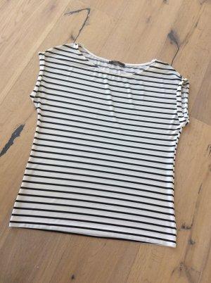 Stripe Shirt white-black