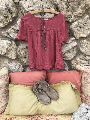 Süßes Häkel-Hippi-Boho Blusen-Shirt