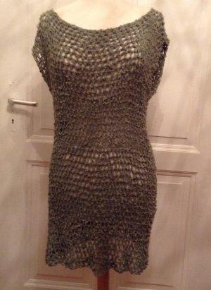 Hippie Dress khaki mixture fibre