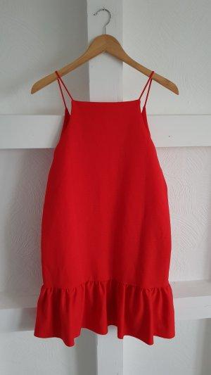 Süßes Hängerchenkleid mit Volants Zara Gr. L