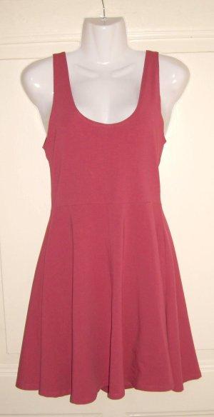 Topshop Mini vestido rojo claro-carmín