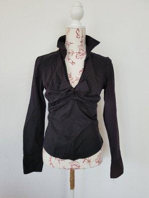 Süsses Hemd Bluse mit Valentino Schleife it40 D34/ 36 Halloween