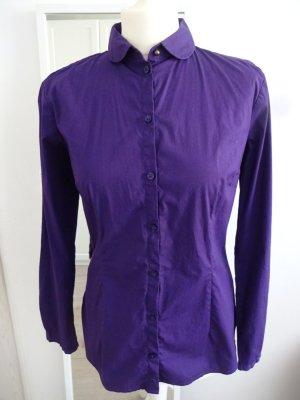 Tom Tailor Camisa de manga larga violeta oscuro Algodón