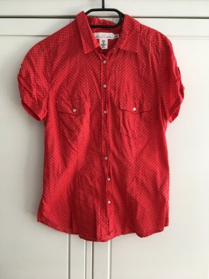 H&M L.O.G.G. Short Sleeve Shirt white-red