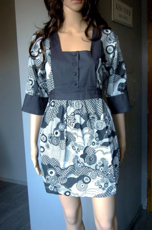 Süßes Hippi-Kleid von Xanaka - Gr. 40 - Urban Hippi Vintagestil