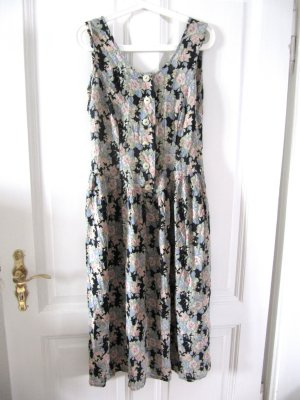 Süßes Hippie Kleid 70er 80er Vintage Flowers SM Größe 38