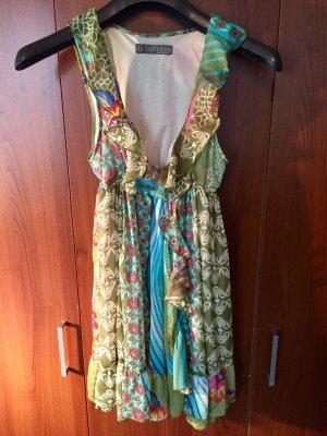 Süßes Hippie-Minikleid von Zara