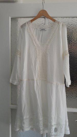 Süßes Hippiekleid in Weiß