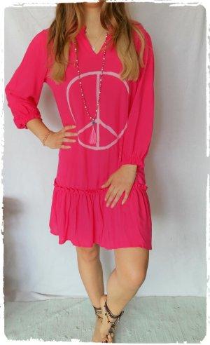 Vestido Hippie rosa