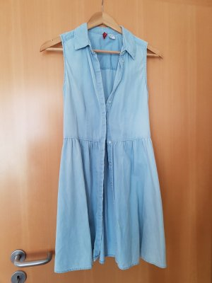 H&M Robe en jean multicolore