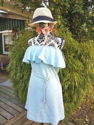 Süsses Jeanskleid von Mango, einmal getragen, Gr. 40