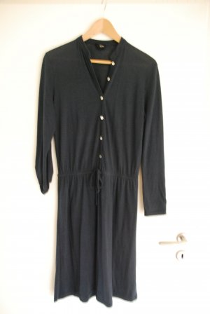 Liebeskind Vestido de tela de jersey azul oscuro