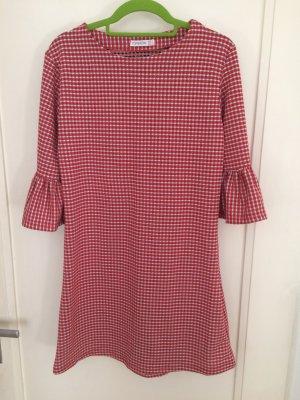 Petticoat Dress red-white