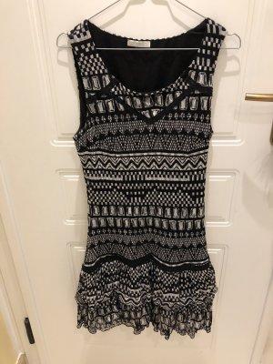 Süßes Kleid 36 schwarz / weiß Promod