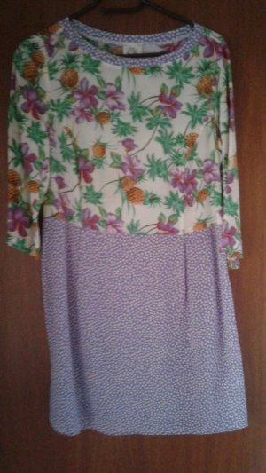 Attic & Barn Shirt Dress multicolored silk