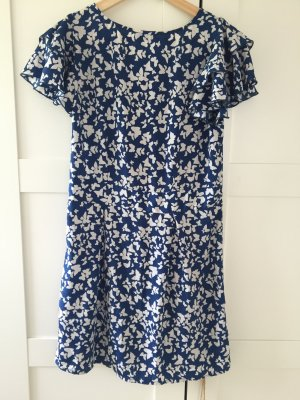 Vero Moda Dress white-dark blue