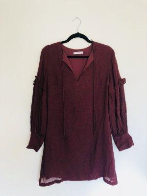 Süsses Kleid in dunkelrot // nie getragen