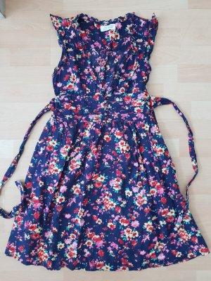 Shortsleeve Dress multicolored cotton