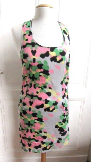 Süßes Kleid Jo Linda Hängerchen Sommer Minikleid von Vero Moda Größe 36 Neon