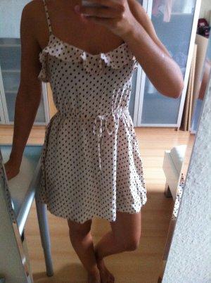 süßes Kleid mit Punkten von H&M Gr 36