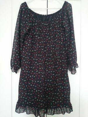 Süßes Kleid mit Schleifchen-Print