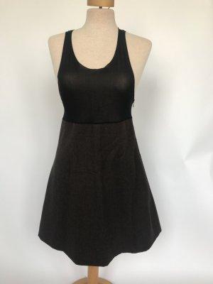 Ensemble noir-brun foncé tissu mixte