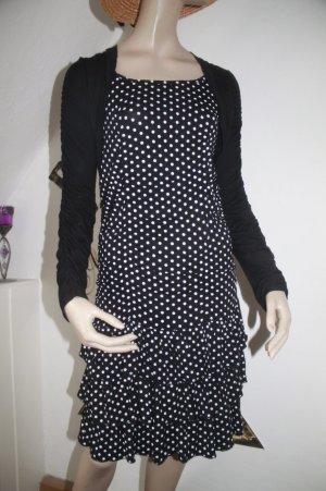 süsses Kleid * Punkte * Bolero * Rüschen * Größe S * einmal getragen *