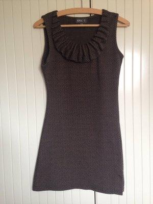 Apricot Mini Dress black-grey brown