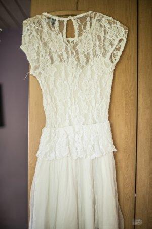 Asos Kanten jurk wit