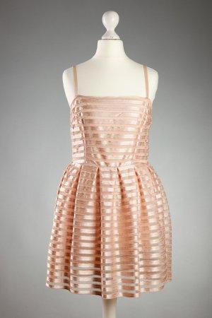 süßes Kleid von H&M in apricot pastel Gr S