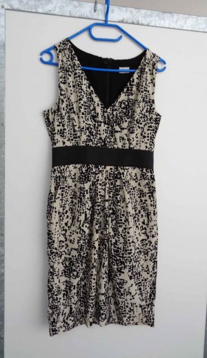 Süßes Kleid von H&M schwarz beige Gr. S/36 wie neu