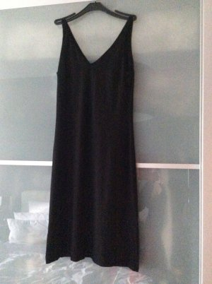 Dress black viscose