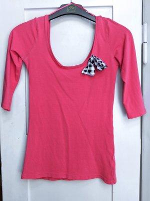 Jennyfer Carmen shirt zalm-lichtrood
