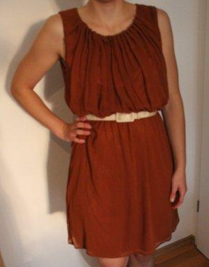 süßes kupferfarbenes Kleid #herbst