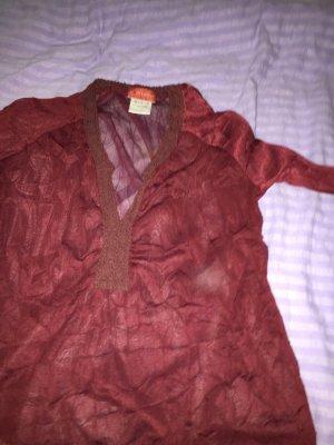 Süßes langärmliges  durchsichtiges Shirt