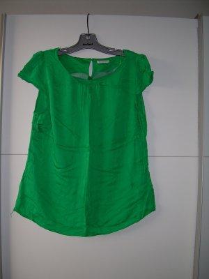 süßes leichtes grünes Blusen-T-Shirt von Yessica Gr. 42