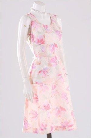 süßes leichtes Sommerkleid Blumen Gr. 36 S Original Vintage 70er