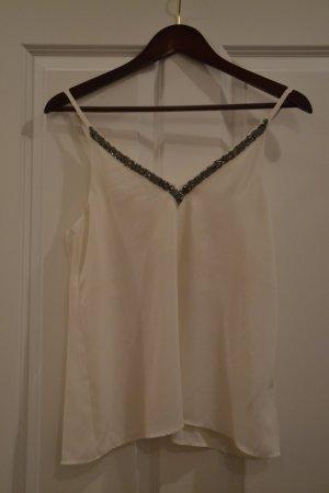 H&M Blusa bianco-grigio chiaro
