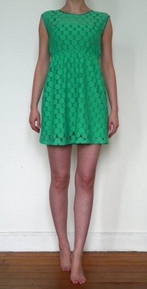 Süßes Mini-Kleid # neu # 36 # stahlendes grün