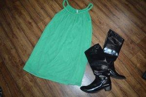 Süßes Minikleid/Longtop Gr. 40 von only grün