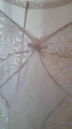Négligé blanc-gris clair