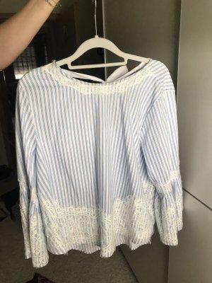 Mesh Shirt white-azure