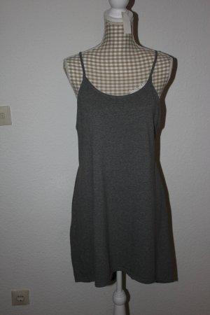 süßes oversized Jerseykleid Kleid wie *NEU* Gr. S, grau Sommerkleid