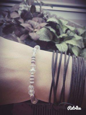 Süßes Perlenarmband, selbstgemacht