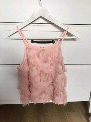 Glamorous Top senza maniche rosa pallido